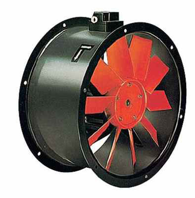 Axial Round Industrial Fan Image